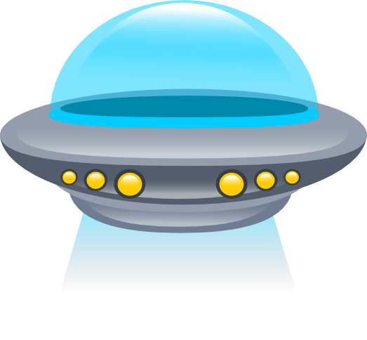 Ufo free to use clipart 4.