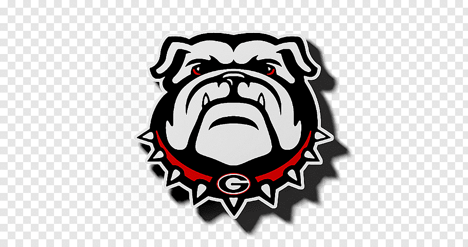 Georgia Bulldogs logo, University of Georgia Georgia.