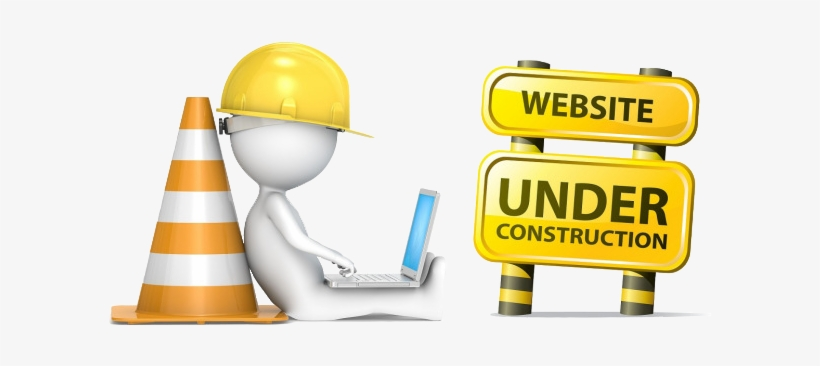 Website Under Construction Png Graphic Transparent.