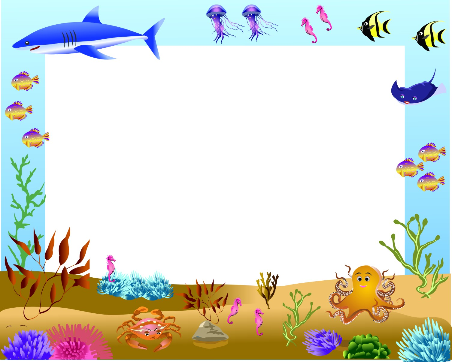 Free Sea Border Cliparts, Download Free Clip Art, Free Clip Art on.