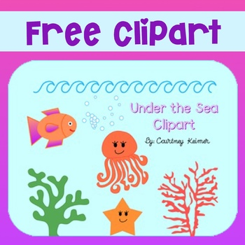 Free Under the Sea Clipart for Commercial Use.