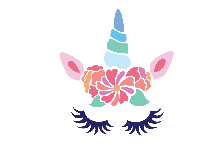 Free unicorn face clipart 3 » Clipart Station.