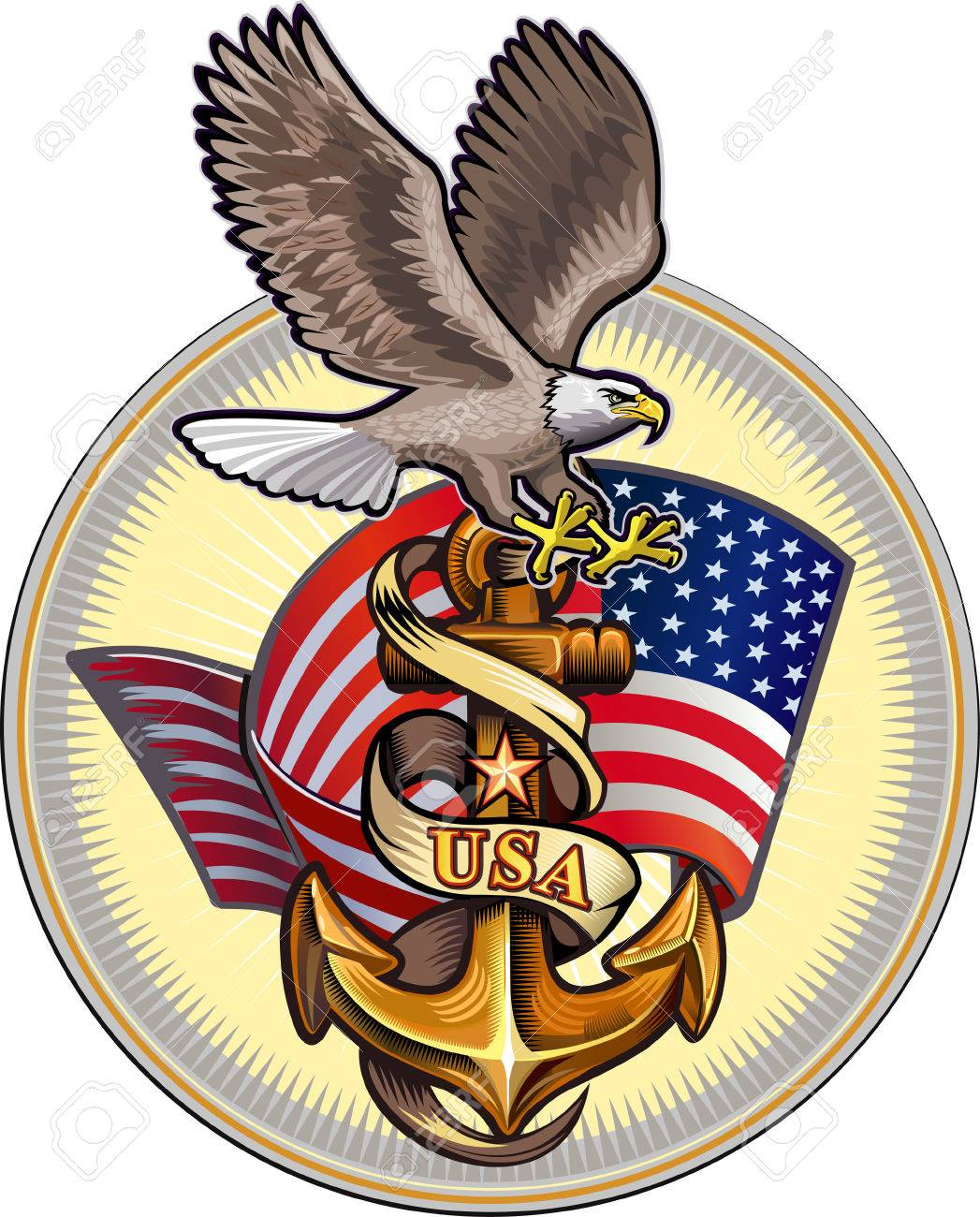 US Navy Eagle.