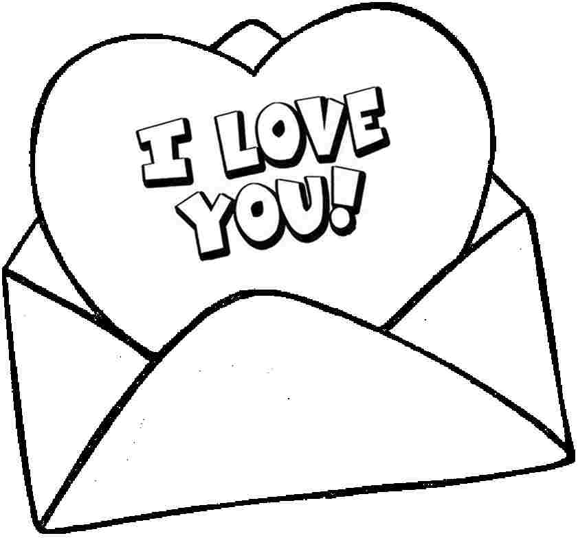 valentine clipart black and white.