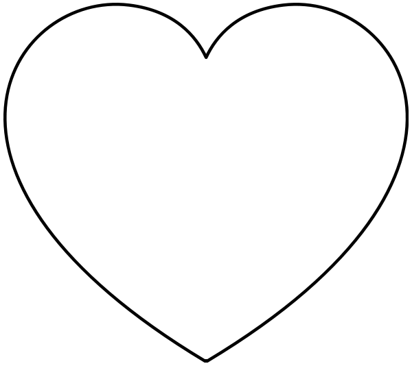 Free Valentine Hearts Clipart, 5 pages of Public Domain Clip Art.