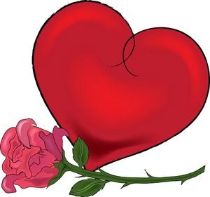 Clipart Valentine Heart.