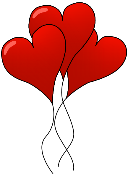 Red Valentine Heart Clipart.