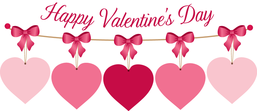 7083 Valentines Day free clipart.