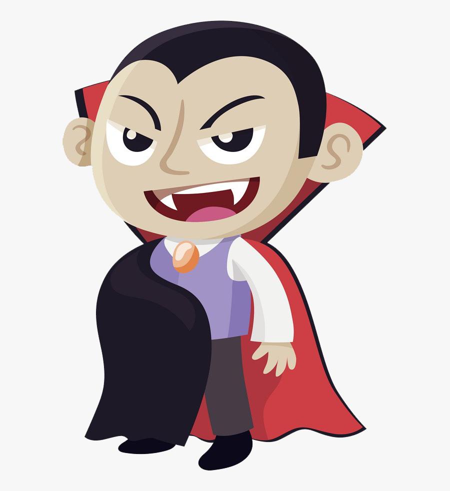 Vampire Transparent Background.