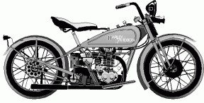 Harley Silhouette Clipart.