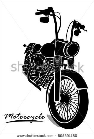 Harley Vector Stock Images, Royalty.