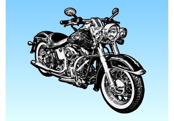 Harley Davidson Motorcycle.