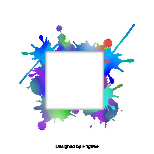 2019 的 Watercolor Border Vector, Watercolor Border, Album PNG.