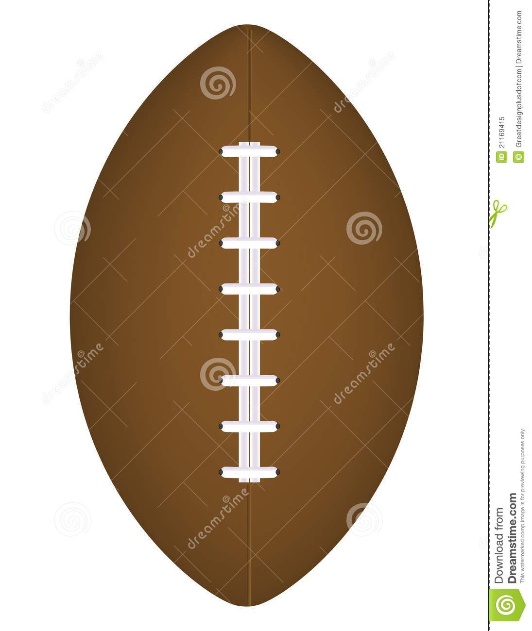 Realistic Vector Football! Clip Art / Eps8 Royalty Free Stock.