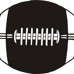 Exclusive Free Vector Football Clipart Layout.