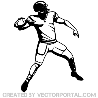 360+ Football Clipart Vectors.