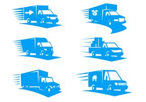 Truck Free Vector Art.