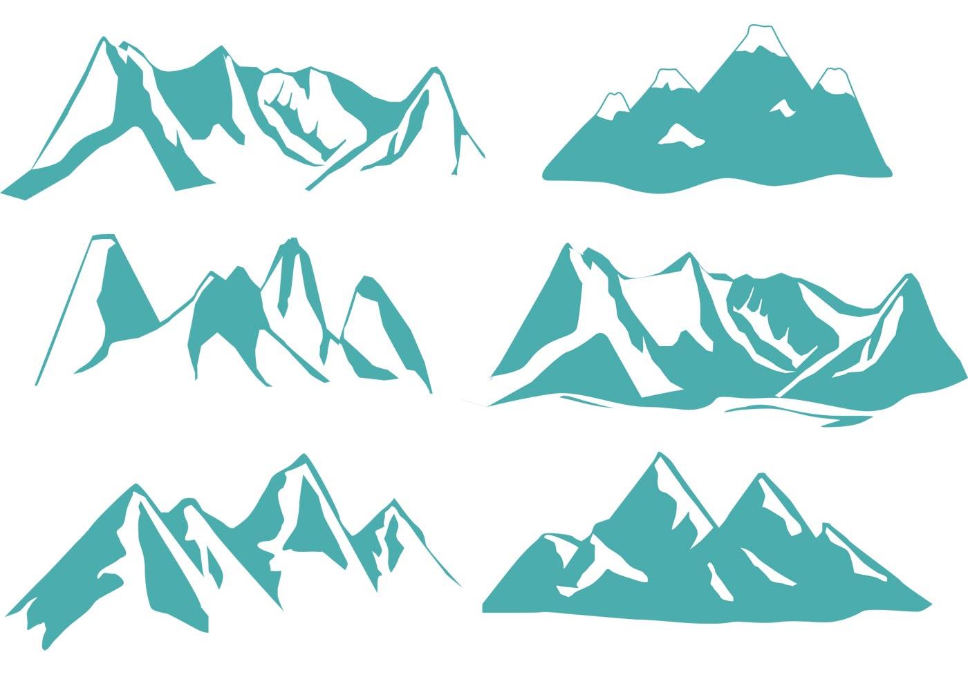 Mountain Free Vector Art.