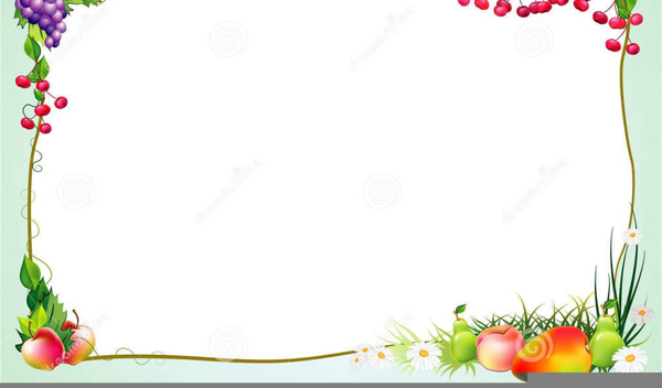 Free Clipart Vegetable Borders.