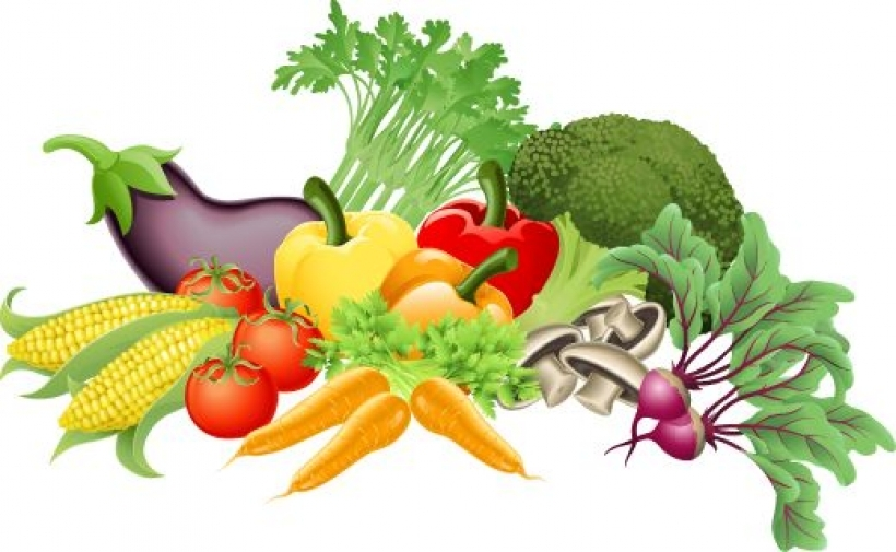 vegetables clipart fruits and vegetables clip art free vector for.