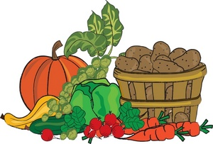 Free Vegetable Garden Clipart.