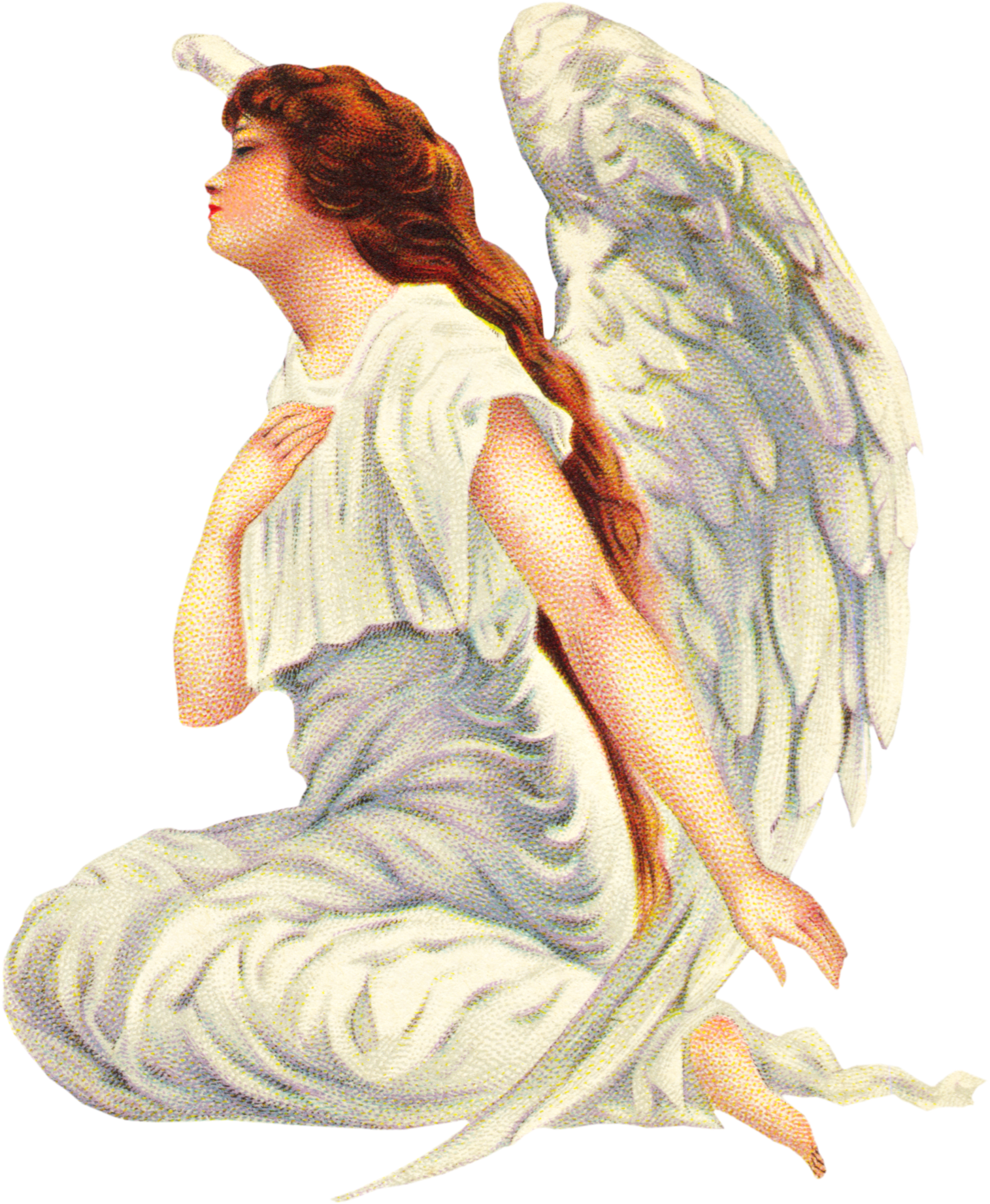 A collection of free Vintage Angel graphics for your design projects.
