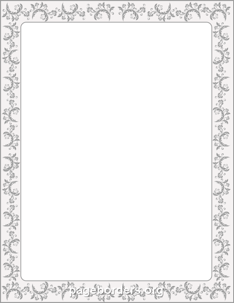 Victorian Border: Clip Art, Page Border, and Vector Graphics.