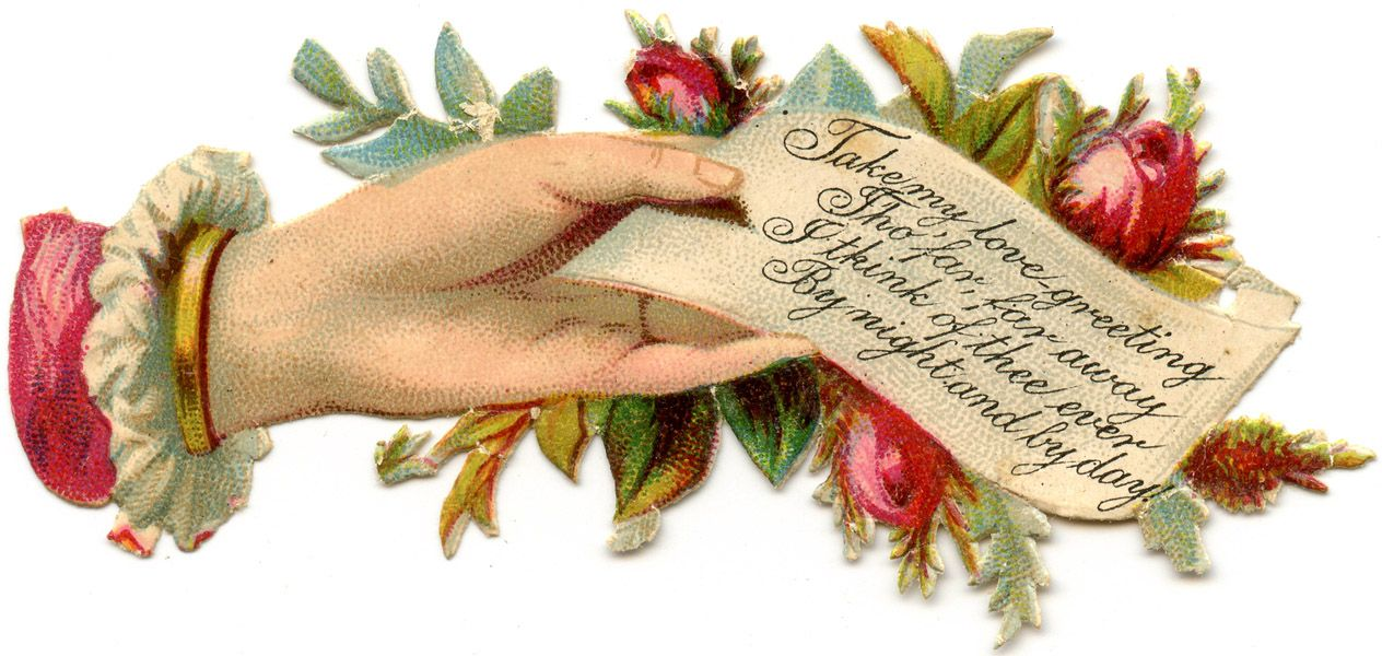 Free Printable Victorian Calling Cards.