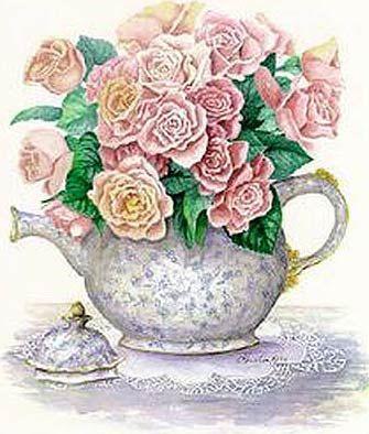 Victorian Tea Clip Art Free.