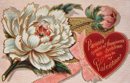Free High Resolution Vintage Victorian Valentine\'s Day.