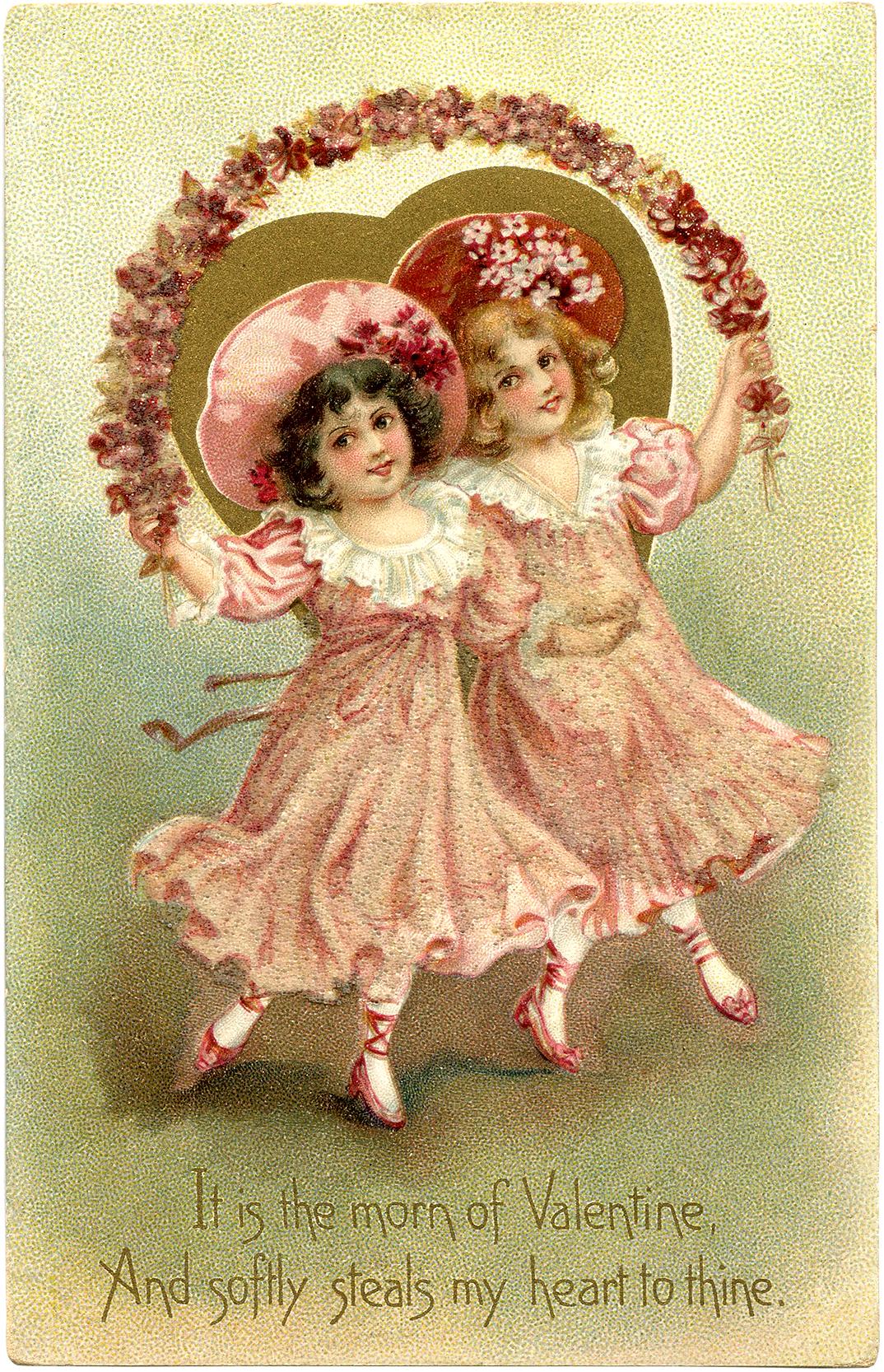 18164 Valentine free clipart.