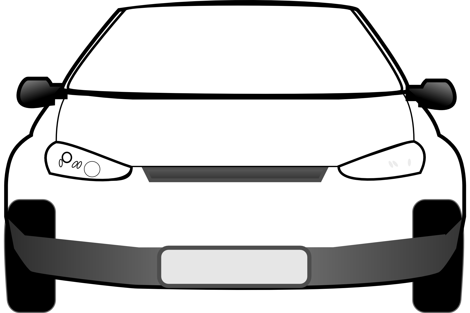 Vehicle Front Clipart.