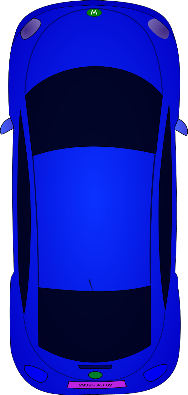 Top view car clipart free.