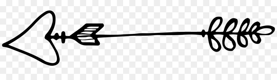 Line Art Arrow png download.