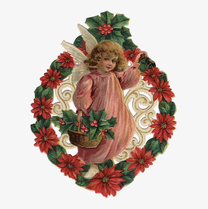 Free Vintage Christmas Angels Clip Art Angels Cherubs.