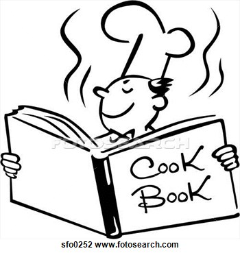 Cookbook Clipart Free.