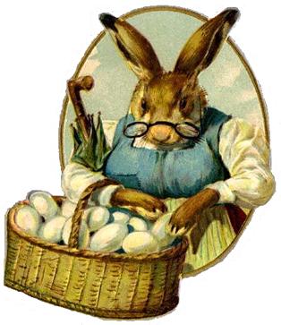 Free Vintage Easter Clip Art.
