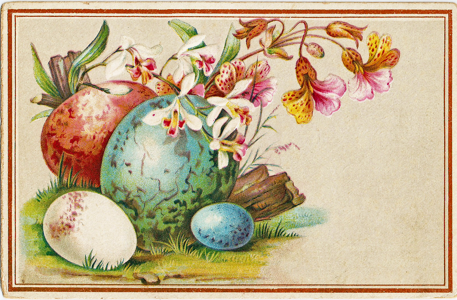 Free Vintage Easter Clipart Lamb Clipground