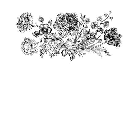 1,015,428 Vintage Flowers Stock Illustrations, Cliparts And Royalty.