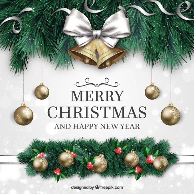 Christmas Vectors, Photos and PSD files.
