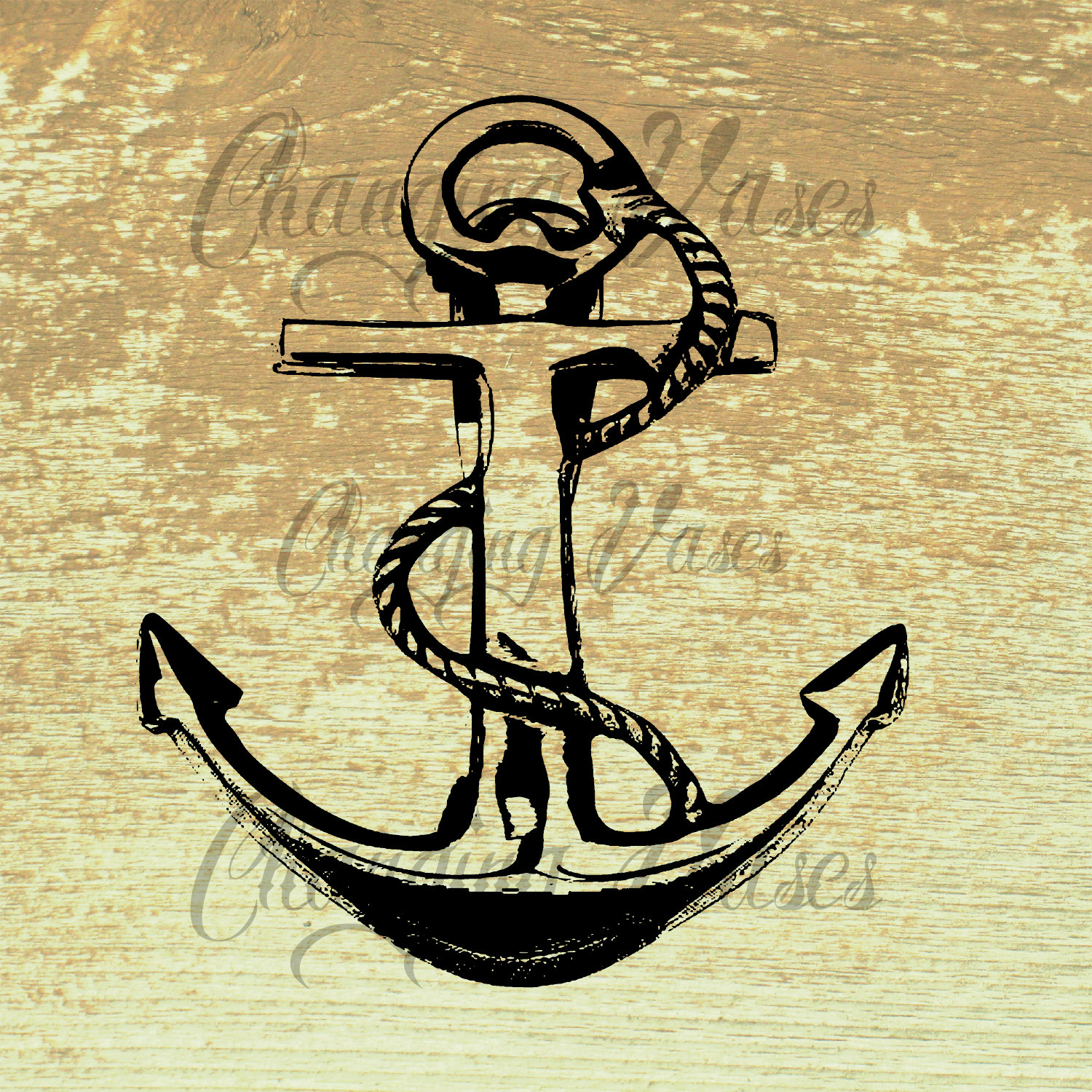 Vintage Nautical Clipart.