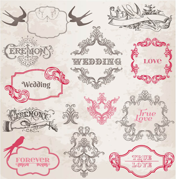 Free Vintage Wedding Clipart
