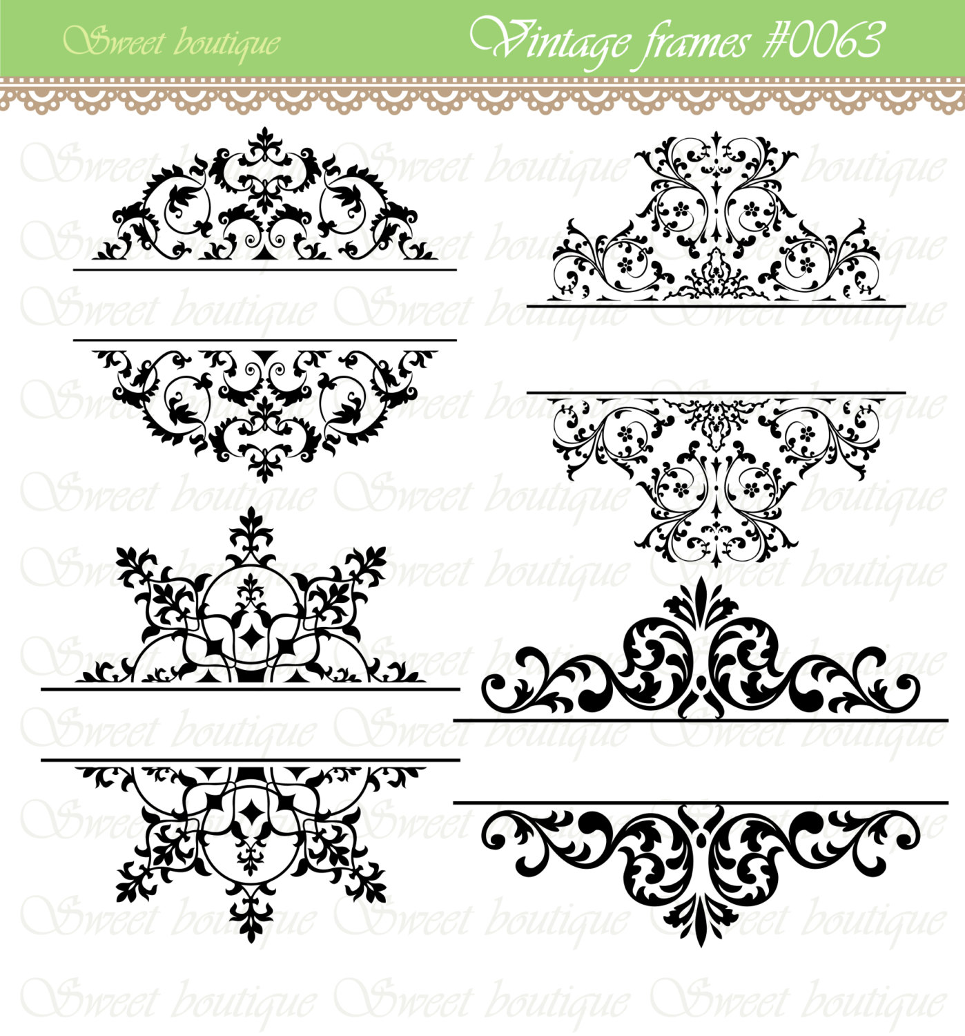 Vintage Wedding Clipart Free.