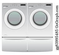 Washer Dryer Clip Art.