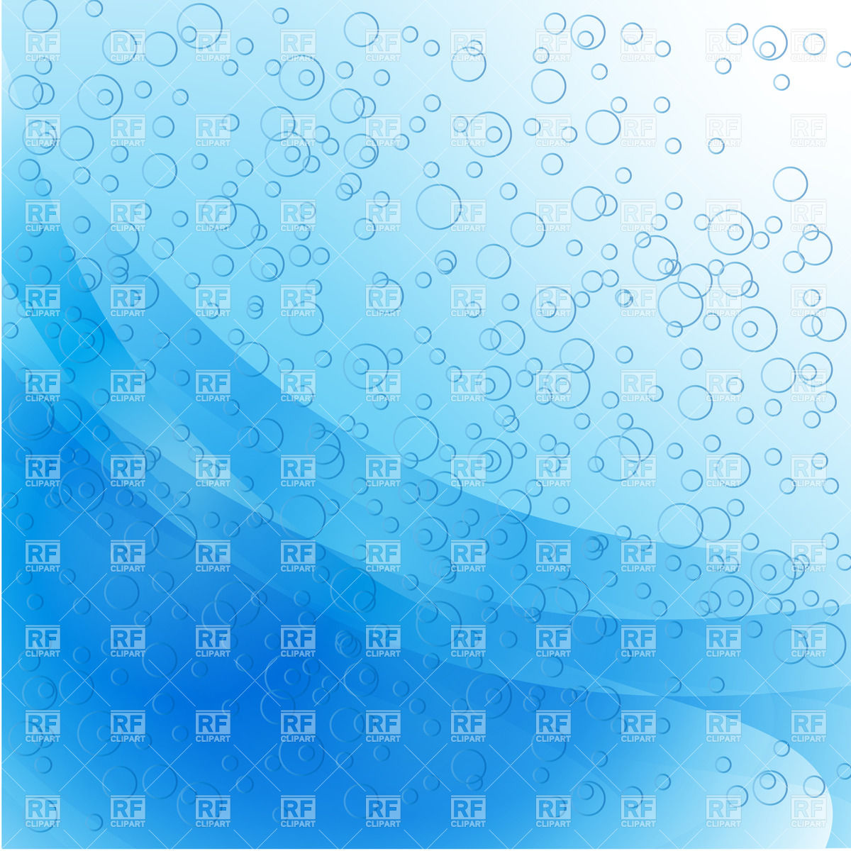 Free Water Buble Background Clipart.