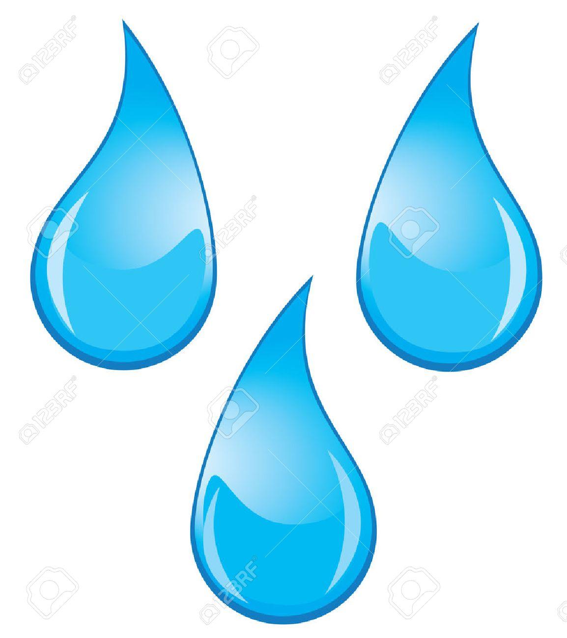 vector water drops.