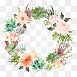 Wreath Png, Vector, PSD, and Clipart With Transparent Background for.