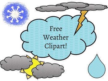 FREE Weather Clip Art.