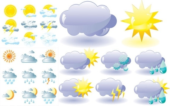 Free vector weather icons free vector download (28,173 Free.
