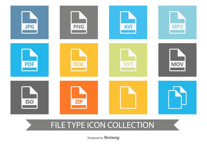 File Type Icon Collection.